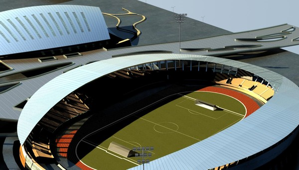 soccer stadium max - Grand Stadium 10... by papandenis